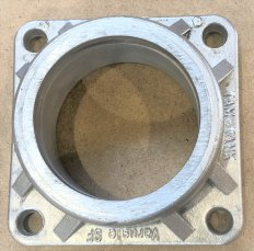 Ball Valv Flange DN80 / Pipe D80, with gasket