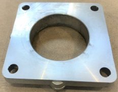 Gasreturn line flange NS80 size / Pipe NS80, Without O-ring