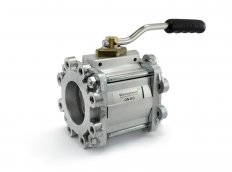 Ball Valve DN80 with Aluminium TW1 Flanges