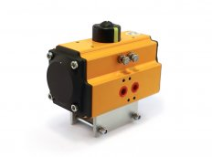 Spring Return Actuator with Holder for Ball Valve DN80